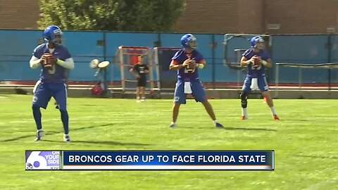 Boise State Broncos gearing up for first game