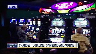 Floridians vote to make changes to racing, gambling and voting