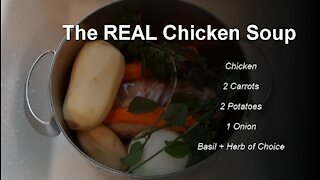 How to Make REAL Chicken Soup and Side Dish