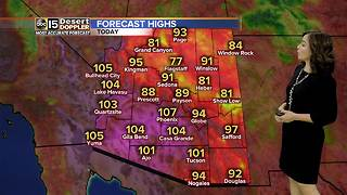 Warm start to the week in Valley, slight cool down coming - Video