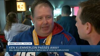 Well-known coach in Special Olympics dies from COVID-19 complications