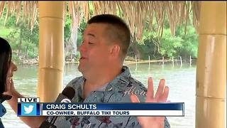 Buffalo Tiki tours gears up for opening weekend! - Video