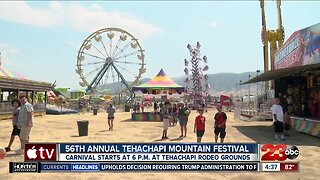 Tehachapi Mountain Festival starts Friday