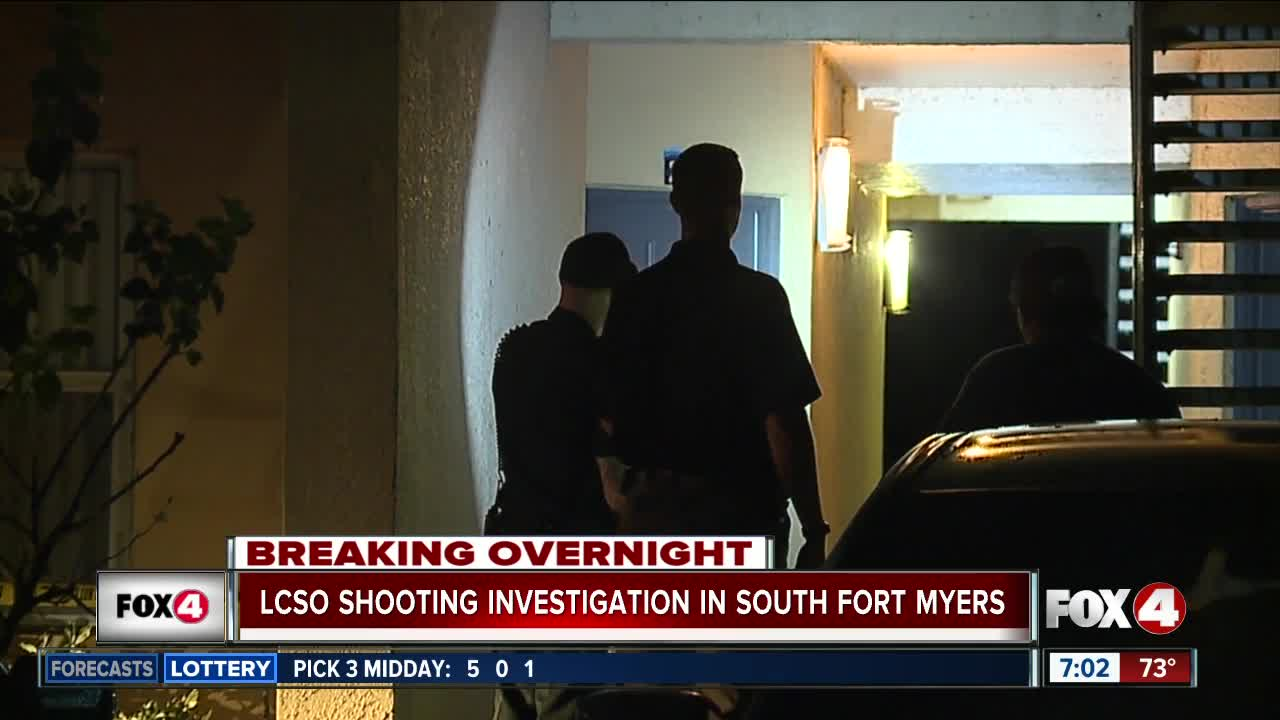 LCSO investigating shooting in South Fort Myers