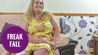 Mum has spoken of relief after having leg amputated - Video