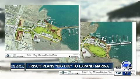 Major improvements planned for the Frisco Marina