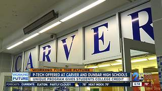P-TECH program helping Baltimore City students get college credit