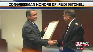 Rep. Don Bacon honors Native American leader Dr. Rudi Mitchell