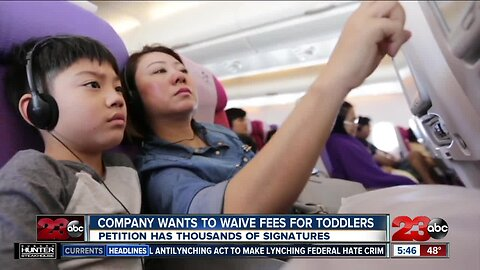 Non-profit wants to help parents flying with kids