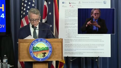 WATCH: Governor DeWine's Tuesday COVID-19 update