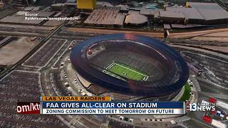 FAA gives Raiders stadium the go ahead - Video