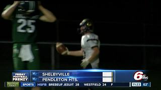 HIGHLIGHTS: Shelbyville 34, Pendleton Heights 27 - Video