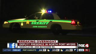 Deputy Presence in North Fort Myers