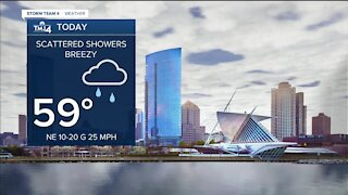 Cool fall weather, chance of rain Wednesday