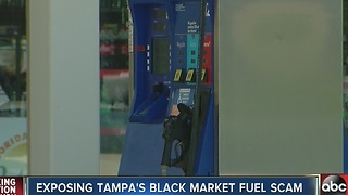 Exposing Tampa's Black Market Fuel Scam - Video