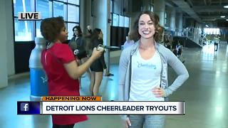 Lions Cheerleaders auditions - Video