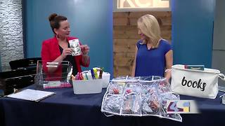 Get organized for the school year - Video