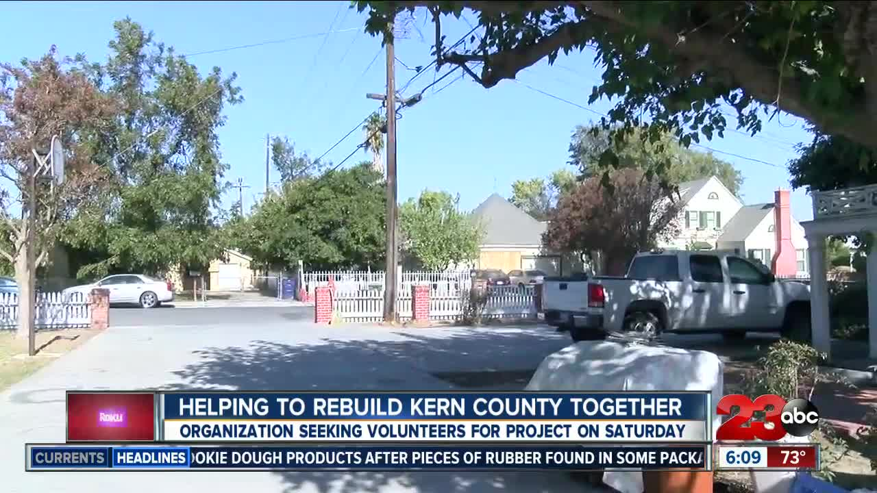 Local organization helping to rebuild Kern County together