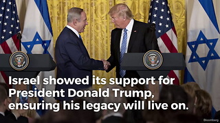 Israel Makes Historic Move on Trump's Legacy - Video