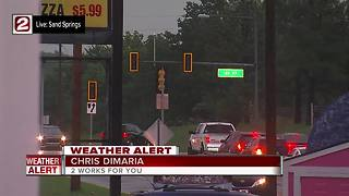 Storms bring power outages in Sand Springs