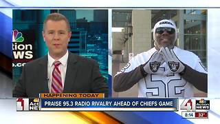Chiefs/Raiders rivalry hit the Gospel radio airwaves - Video