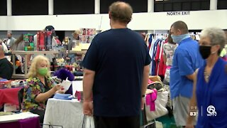 'Gigantic Garage Sale' celebrates its 30th anniversary in West Palm Beach
