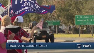 Local Protest in support of President Trump