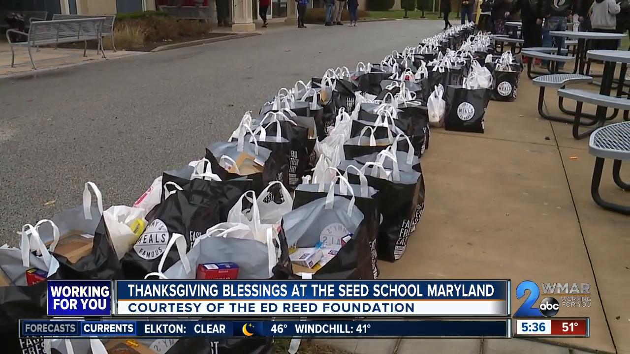 Thanksgiving Blessings at the SEED School of Maryland