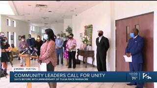 Community leaders call for unity