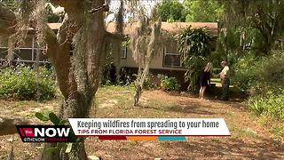 How to keep wildfires from spreading to your home