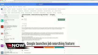 Google launches job searching feature - Video
