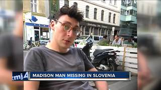 25-year-old Madison man missing in Slovenia for 5 weeks after trip with mother - Video