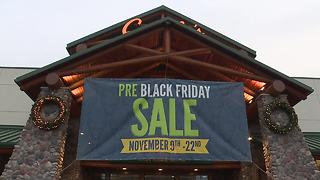 Black friday shopping - Video