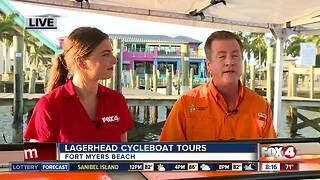 Lagerhead Cycleboat Tours near Fort Myers Beach - Video
