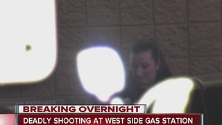 Man found shot dead at west side gas station - Video