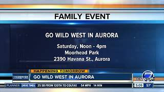 Go Wild West in Aurora
