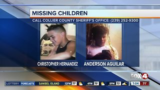 Deputies search for two missing kids in Naples