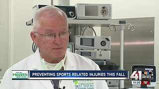 Preventing sports related injuries this fall
