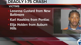 Victims identified in I-75 fatal crash - Video