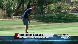 HOA saves neighborhood golf course from closing - Video