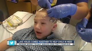 Lake Wales comes together to help child in need - Video
