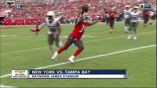 Ryan Fitzpatrick helps Tampa Bay Buccaneers beat New York Jets 15-10, end 5-game skid - Video