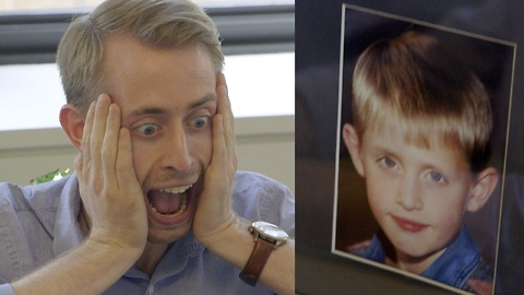 Office coworker thinks he's Macaulay Culkin