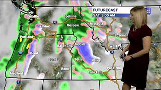 Clouds roll in for Thursday with a chance of storms for some - Video