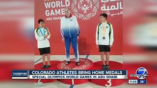 Colorado Special Olympics athletes medal at World Games