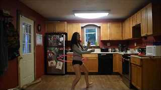 Talented Hula Hoop Artist Demonstrates Her Incredible Skills