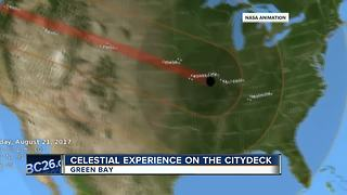 City Deck solar eclipse viewing party - Video