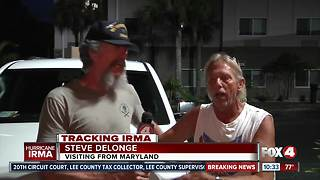 Hurricane Evacuees Make their Way North - Video