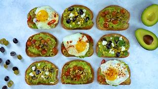 Avocado Toast with Califlornia Ripe Olives - Video
