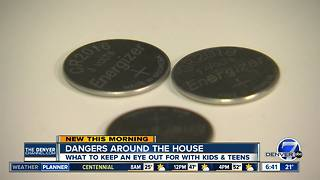 Dangers around the house for children - Video